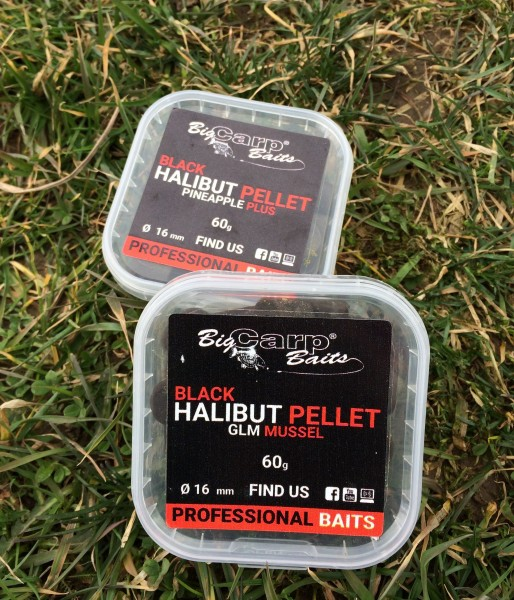 BLACK Halibut Pellet 60g (1)