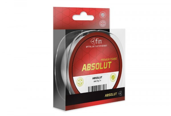 FIN Absolut Delphin ABSOLUT transparentní 150m 0,25mm 13,2lbs