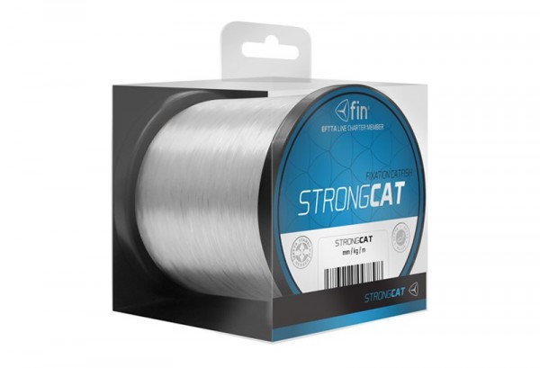 FIN STRONG CAT 500m / transp. 0,50mm 33lbs