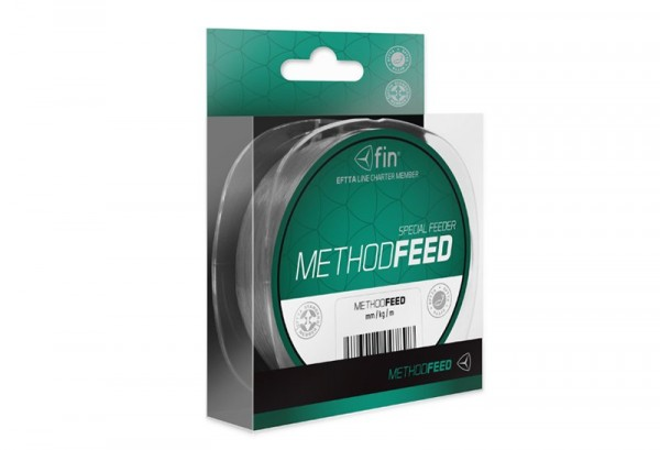 FIN Delphin METHOD FEED 300m/šedá 0,28mm 14,3lbs