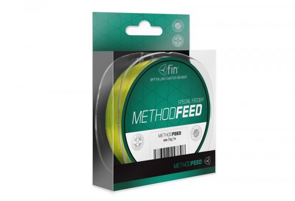 Delphin METHOD FEED 300m/žlutá 0,16mm 5,3lbs