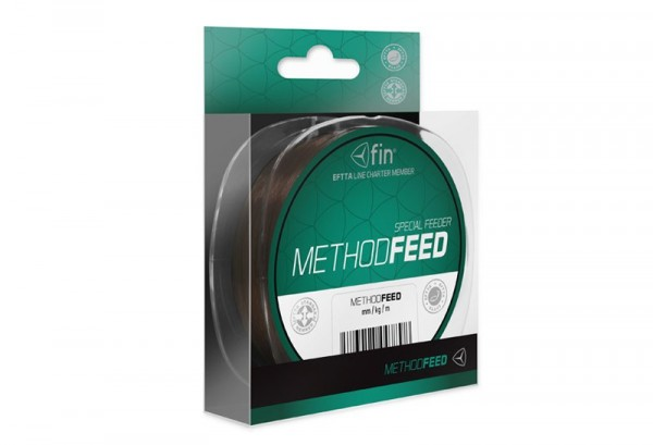 FIN Delphin METHOD FEED 5000m/tm.hněd 0,28mm 14,3lbs