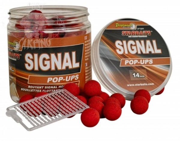 Plovoucí Boilies Starbaits - Hot Demon 80gr 14mm (1)
