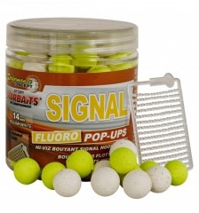 STARBAITS Plovoucí boilies Fluo Signal 80g