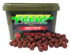 STARBAITS FEEDZ Boilies CHILI HEMP 20mm 4kg