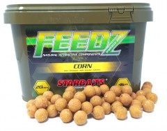 STARBAITS FEEDZ Boilies CORN 14mm 4kg