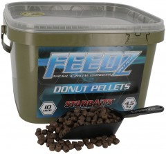 STARBAITS Feedz Donuts (pelety s dírou) 10mm 4,5kg