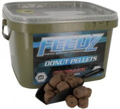 STARBAITS Feedz Donuts (pelety s dírou) 25mm 4,5kg