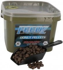 STARBAITS Feedz Donuts (pelety s dírou) 10mm 2kg
