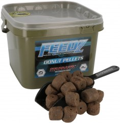 STARBAITS Feedz Donuts (pelety s dírou) 25mm 2kg