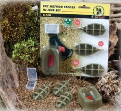 Extra Carp Extra Carp Method Feeder Set 20,25,30g + formička