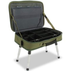 NGT NGT Stolek v Kufříku Box Case Tackle Bag with Bivvy Table