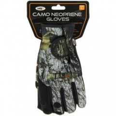 NGT NGT Neoprén Rukavice Camo Gloves XL